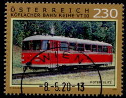 """Austria 2020, SM """"ROTER BLITZ GRAZ KOFLACHER BAHN"""" USED / GESTEMPELT /O - 2011-... Gebraucht"""