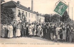 SAINT ETIENNE DU ROUVRAY - Sortie Des Ateliers De La Société Cotonnière - Saint Etienne Du Rouvray