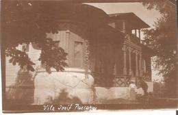 Bol0036 Romania Brasov Bran Villa Iosif Puscariu 1903 Real Photo 7x11 Cm - Rumänien