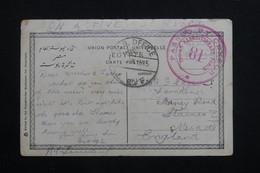 ROYAUME UNI - Carte Postale D'Alexandrie En FM En 1915 Pour Le Royaume Uni , Avec Cachet De Censure - L 60773 - Marcophilie