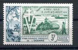 RC 17476 OCÉANIE COTE 10,80€ PA N° 31 ANNIVERSAIRE DE LA LIBÉRATION NEUF ** TB MNH VF - Oceanía (1892-1958)