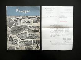 Piaggio & C. 75 Anni Di Attività Catalogo Storia Vespa Aeronautica Genova 1959 - Libri, Riviste, Fumetti