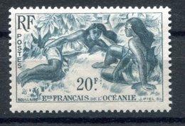 RC 17477 OCÉANIE COTE 8,40€ N° 199 - 20F BLEU-GRIS NEUF ** TB MNH VF - Nuevos