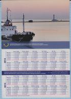 UKRAINE / Calendar / Fleet. European Union Assistance Mission To Moldova And UA. Ship. 2012-2013 - Calendarios
