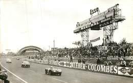 LE MANS Circuit Du 24h , Tableau D'affichage Et Virage Devant Les Tribunes - Le Mans