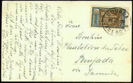 Cameroon 1938, Hotel Postcard Douala-Renjada - Cameroun (1915-1959)
