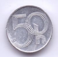 CESKA REPUBLIKA 2005: 50 Haleru, KM 3 - Tchéquie