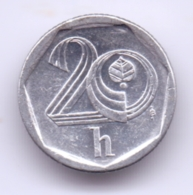 CESKA REPUBLIKA 1998: 20 Haleru, KM 2 - República Checa