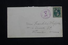 ETATS UNIS - Affranchissement Plaisant Sur Enveloppe En 1879 - L 60778 - Cartas