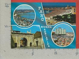 CARTOLINA VG ITALIA - FANO (PU) - Riviera Adriatica - Vedutine Multivue - 10 X 15 - 1983 - Fano