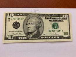 United States Hamilton $10 Uncirc. Banknote 1999 #5 - Nationale Valuta