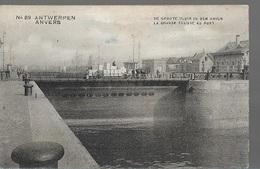 PK/1/  ANTWERPEN   GROTE SLUIS IN DE HAVEN    1913 - Cartes Postales