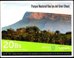 Bolivia 2019 - 24-12-2020 Conservación. Parque Nacional Kaa Iya Del Gran Chaco. Foto María Carmen Mateu. - Gebirgslandschaften