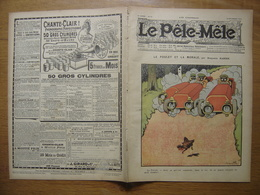 18/12/1904 LE PELE MELE 51 Benjamin Rabier Automobile ISSU D'UNE RELIURE - 1900 - 1949