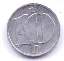 CZECHOSLOVAKIA 1990: 10 Haleru, KM 80 - Czechoslovakia