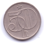 CZECHOSLOVAKIA 1985: 50 Haleru, KM 89 - Czechoslovakia