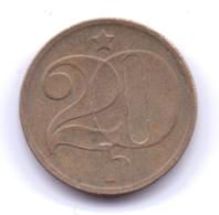 CZECHOSLOVAKIA 1975: 20 Haleru, KM 74 - Czechoslovakia