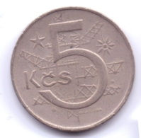 CZECHOSLOVAKIA 1973: 5 Korun, KM 60 - Czechoslovakia