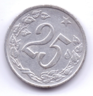 CZECHOSLOVAKIA 1962: 25 Haleru, KM 54 - Tschechoslowakei