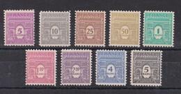 FRANCE 1944  ARC DE TRIOMPHE  NEUF**  DU 620 AU 628 - 1944-45 Triumphbogen