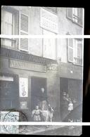 SAINT MAURICE  EPICERIE MARCHANDE DE VINS PHOTO CARTE - Saint Maurice