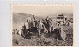 Photographie Militaire Algérie Tlemcen 62 E C G Z  Régiment Du Génie Travaux Tractopelle Circa 1960 Ref 200539 - Krieg, Militär