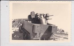 Photographie Militaire Algérie Tlemcen 62 E C G Z  Régiment Du Génie Automitrailleuse  Circa 1960 Ref 200540 - Krieg, Militär