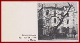 Ecole Nationale Des Eaux Et Forets à Nancy. Meurthe Et Moselle (54). Larousse 1960. - Documenti Storici
