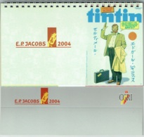 Calendrier E.P.Jacobs. 2004. Représentant Des Couvertures Du Magazine TINTIN, Des Aventures De Blake & Mortimer. - Calendarios