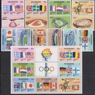 Olympics 1980 - LOT - MONTSERRAT - MNH (106) - Summer 1980: Moscow