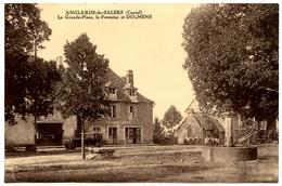 ANGLARDS-de-SALERS - La Grande Place, La Fontaine Et Dolmens - Voir Scan - Frankreich