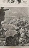 THE GRAPHIC NEWSPAPER 1392. AUGUST 1, 1896. INTERNATIONAL SOCIALIST DEMONSTRATION - Revues & Journaux