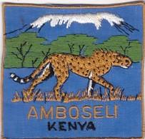 CHASSE / RESERVE / GUEPARD  / TRES BEL ECUSSON KENYA / AMBOSELI - Ecussons Tissu