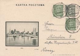 Pologne Entier Postal Illustré Pour L'Allemagne 1932 - Stamped Stationery