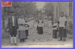 Carte Postale 53. Champéon  Brancard St-Médard Et Ses Pages  Très Beau Plan - France