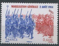 "FR YT 4889 "" Mobilisation Générale "" 2014 Neuf** - Nuovi"