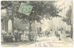 Cpa Var - Signes - Rue Marseillaise - Signes