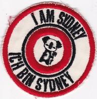 AUSTRALIE / SYDNEY / / TRES BEL ECUSSON / I AM SYDNEY / ICH BIN SYDNEY - Ecussons Tissu