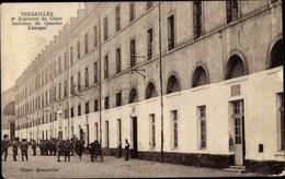 Cp Versailles Yvelines, Regiment Du Genie Interieur Du Quartier Limoges - Autres Communes