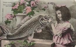 1er Avril  Fille - 1° Aprile (pesce Di Aprile)