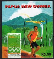 Papua New Guinea 2000 Olympic Games MS, Used, SG 887 (C) - Papua New Guinea