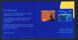 Norwegen 1999 Jahrtausendwende Mi.Nr. 1335/36 MH II ** - Ongebruikt