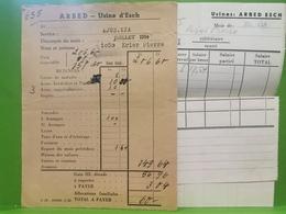ARBED, Usine D'esch 1954 - Esch-Alzette