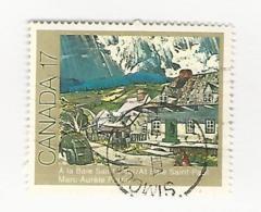35022 ) Canada BC Small Town Postmark Cancel Simoon Sound - Oblitérés