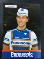 Guy Nulens - Panasonic 1987 - Carte / Card - Cyclists - Cyclisme - Ciclismo -wielrennen - Cyclisme