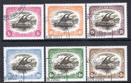 Papua New Guinea 2002 Centenary Of 1st Lakatoi Stamps Ships Set Of 6, Used, SG 919/24 (C) - Papua New Guinea