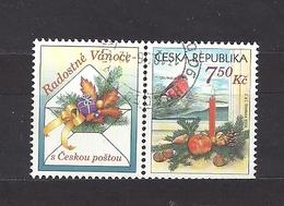 Czech Republic 2006 ⊙ Mi 492 Zf Sc 3319 Christmas Greeting Stamp. Weihnachtsgruß. Left Coupon. Tschechische Republik. - Czech Republic