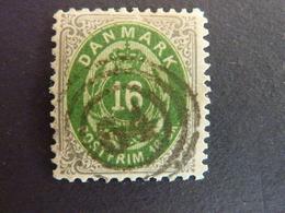 DANEMARK, Année 1870, YT N° 20 Oblitéré  (cote 220 EUR) - Used Stamps