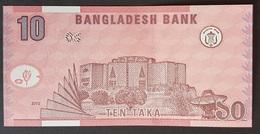 FD0513 - Bangladesh 10 Taka Banknote 2010 UNC - Bangladesh