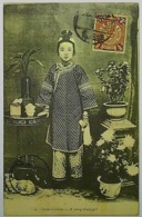 1903 CHINESE IMPERIAL POST - A YOUNG CHINESE GIRL - China